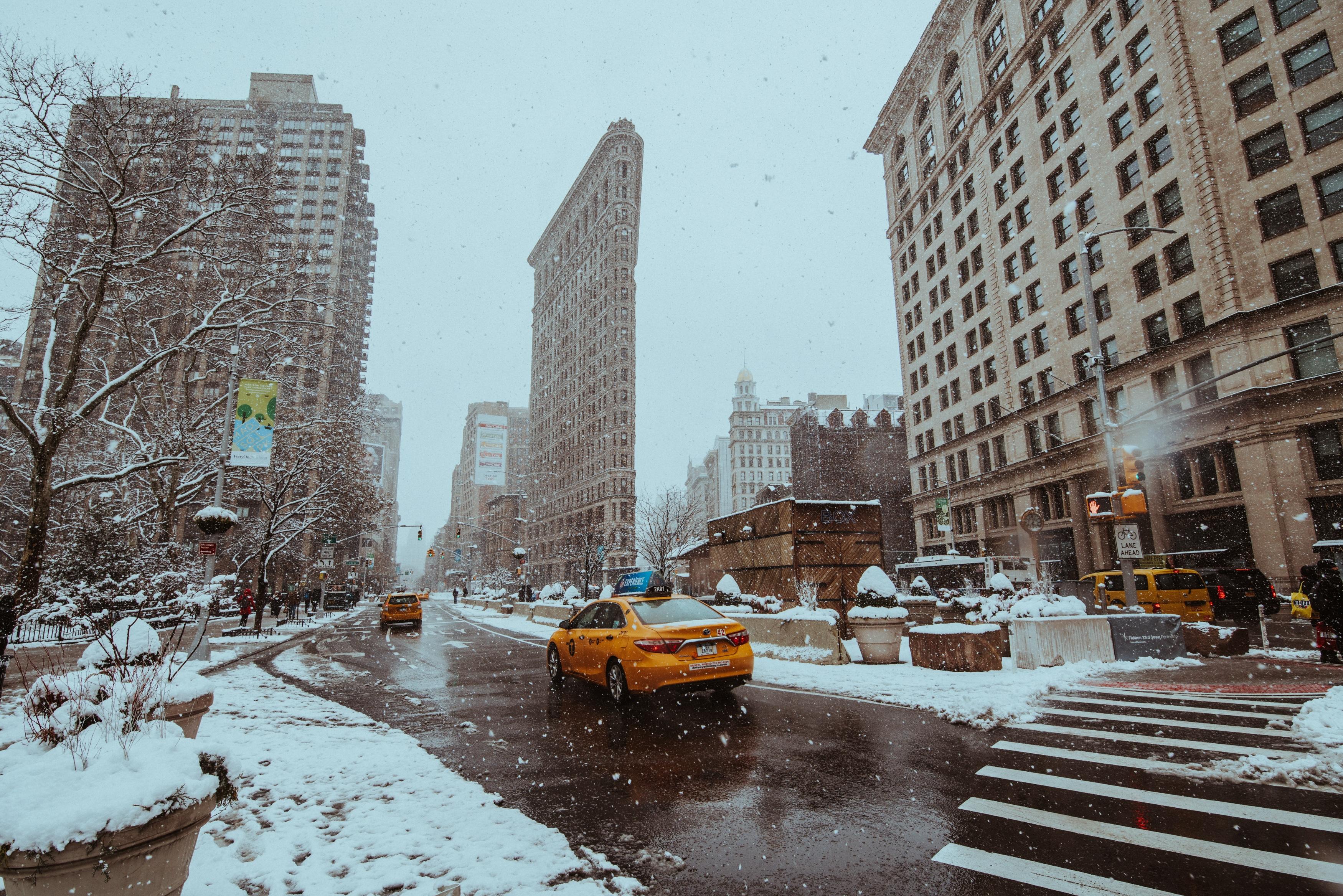 Schneesturm New York